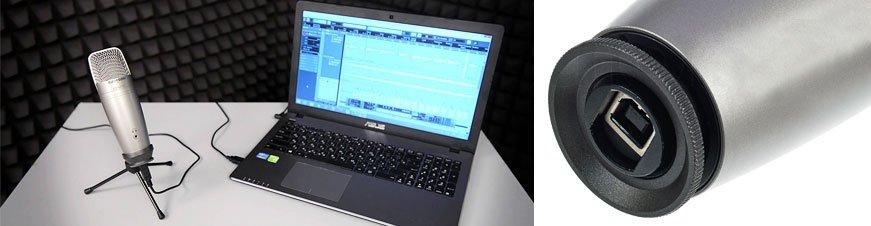 Samson CO1U PRO USB Stüdyo Kondansatör Mikrofon